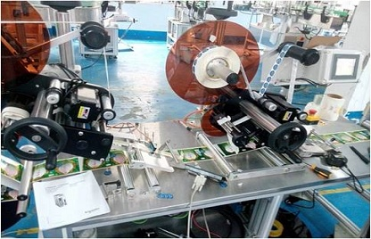 Application of MC280 in Full Automatic Labeling Machine
