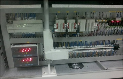 Application of MC100 Series PLC and MTC in Reflow Soldering System