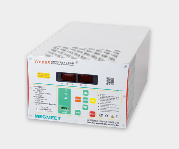 Digital inverter for indstrial microwave power supply wepex 4000F