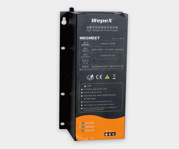 Digital inverter for industrial microwave power supply Wepex 1000B-TX