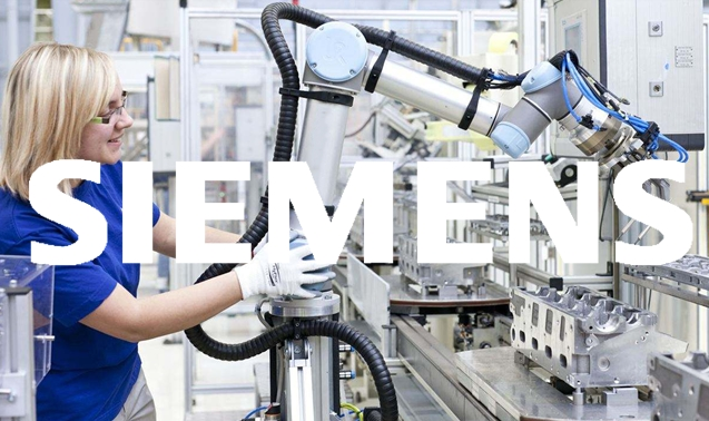 SIEMENS, ABB Industry 4.0 production line