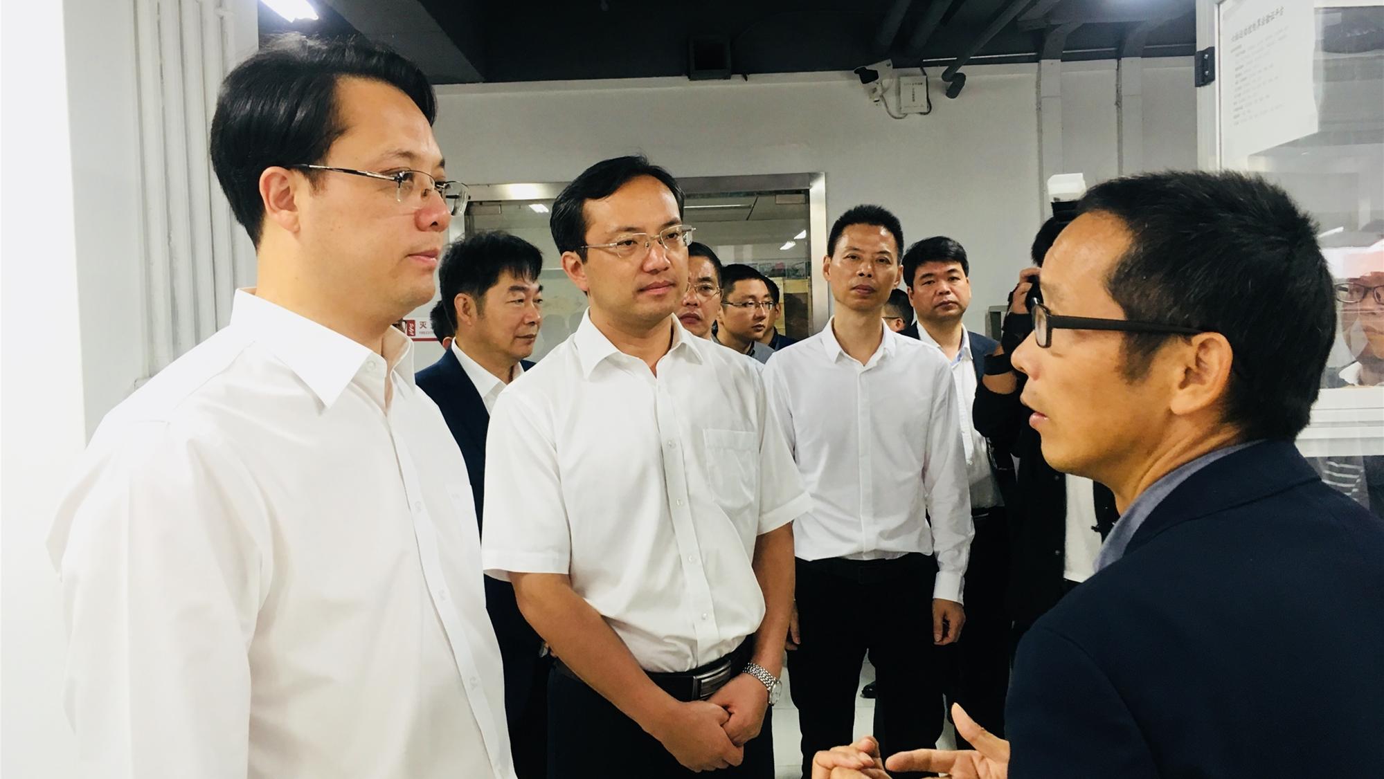 New Energy   Zhang Xiaoqiang and Other Leaders of Taizhou City, Zhejiang Province Visit Megmeet