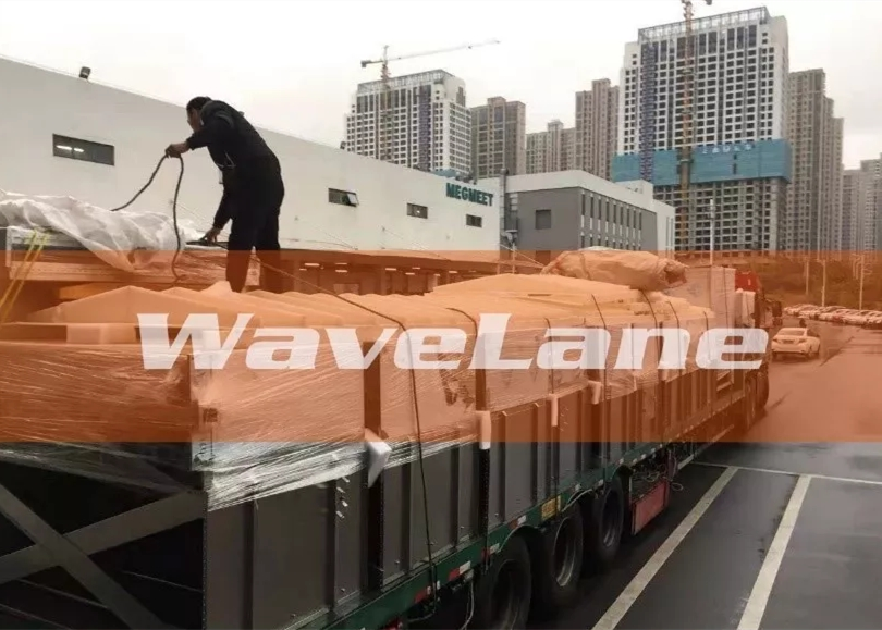 Wavelane Continuous Aerogel Equipment Delivered Successfully